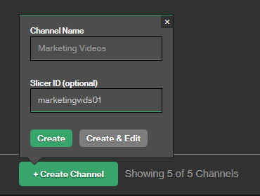 Setting up a Live Linear Channel Tutorial